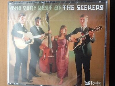 The. Seekers.        Very. Best.                Readers Digest Three Disc Boxset