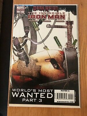 The invincible iron man #10 variant, hot comic