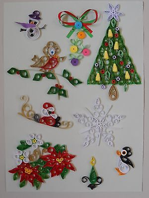 Quilling Kit - Designs for Christmas 1, by Past Times Quilling