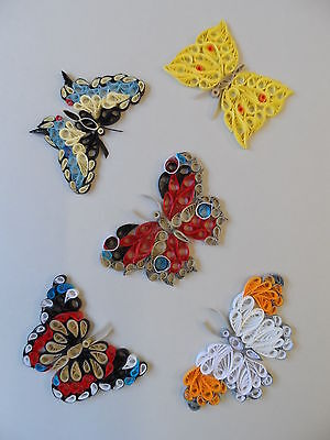 Quilling Kit - Designs for Butterflies by Past Times Quilling