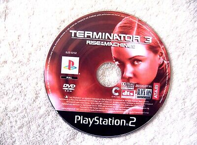 47530 Terminator 3 Rise Of The Machines - Sony PS2 Playstation 2 (2003) SLES 521