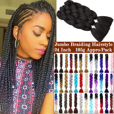 35 COLOR JUMBO BRAIDING Hair Extensions Afro