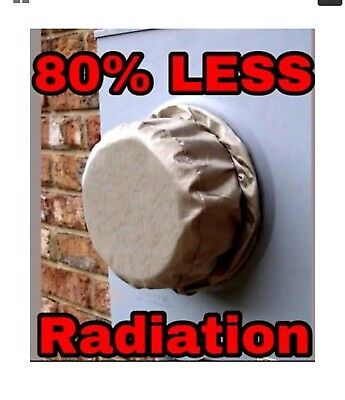 Rf Smart Meter Shield Protector Cover Reduces 80% Of All Rf Emf Radiation Rfid