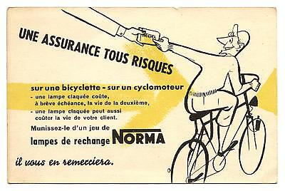 Cyclisme.bicyclette.la Lámpara Norma Lamp.bicycle.vélo.publicité.advertising