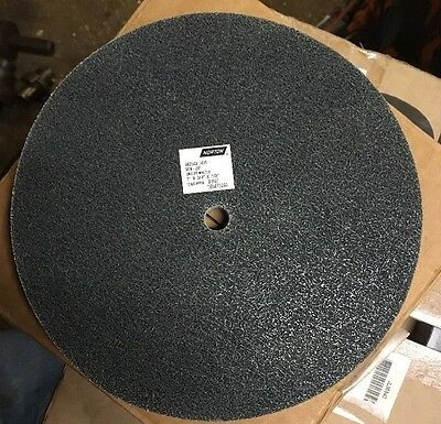 Norton 8X3/4x1/2 Bear-Tex Unified Fine Deburring Grinder Wheel NEX-2SF