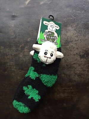 BNWT Kids Thick Character Slipper Socks - Liam the Lamb - ideal Xmas present!!