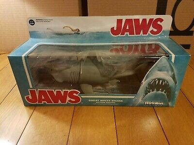 GREAT WHITE TOY PRANKS CAKE TOPPER SQUEEZABLE HUNGRY SHARK JAWS MEG NWT FUN