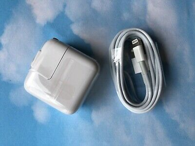 ONE SET - 12W USB 2.4 Amp Wall Charger +  6-1/2' (FT) 8 Pin Cable for iPad Air