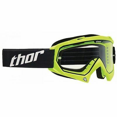 Occhiale Bimbo Moto Cross Thor Youth Enemy Solid Verde Fluo