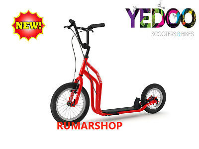 2019 model TOP AANBIEDING YEDOO SCOOTER ROLLER STEP nieuw CITY Red