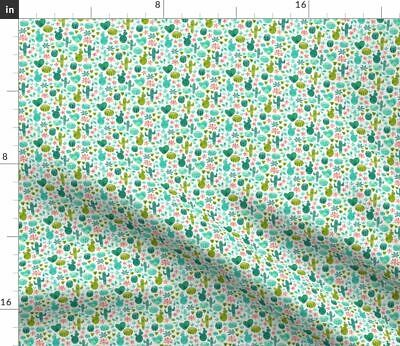 Baby Clothes Baby Clothes Cactus Cacti Fabric Printed by Spoonflower BTY