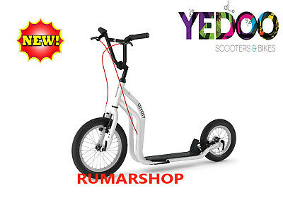 2019 model TOP AANBIEDING YEDOO SCOOTER ROLLER STEP nieuw CITY White