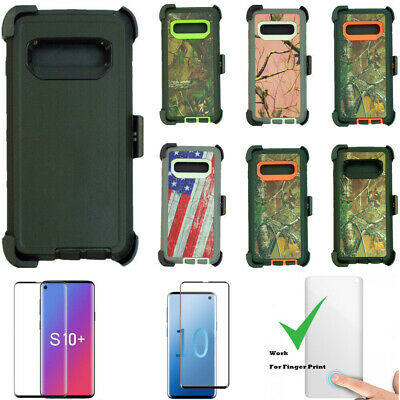 sports shoes 57cca ca73b FOR SAMSUNG GALAXY S9 & S9 Plus Camo Case ( Belt Clip Fits Otterbox ...