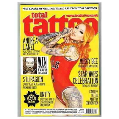 Total Tattoo Magazine October 2016 MBox3549/H Star War Celebration