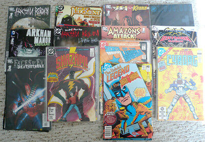 Batman, Teen Titans, Shazam & MORE DC Comics Lot - Full Miniseries - 57 comics