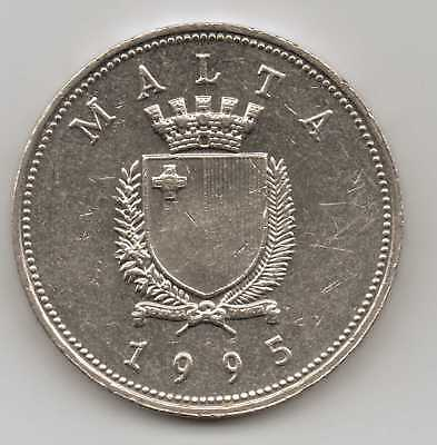 MALTA - 1 Lira 1995 Nickel – 13 g – ø 29.82 mm