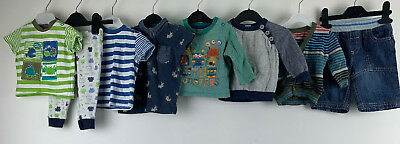 Boys Clothes Bundle 3/6 Months Sweater Cardigan Jeans Shirts Little Monsters Dog