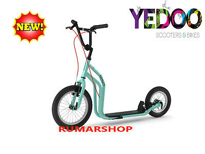 2019 model TOP AANBIEDING YEDOO SCOOTER ROLLER STEP nieuw CITY Light Blue