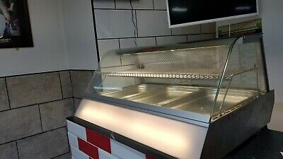 New Commercial Hot Food Chicken Warmer Display Cabinet Showcase