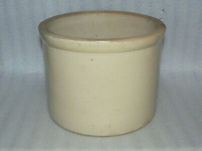 Antique Red Wing 5 Pound Butter 1 Gallon Crock Stoneware