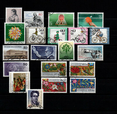 Germany (West Berlin) THIRTEEN great sets of stamps from 1985. Cat.value £47.60