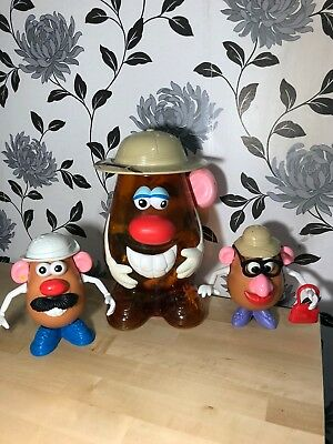 Mr Potato Head Bundle Large Head Storage + Lots Of Accessories Disney Toy Story