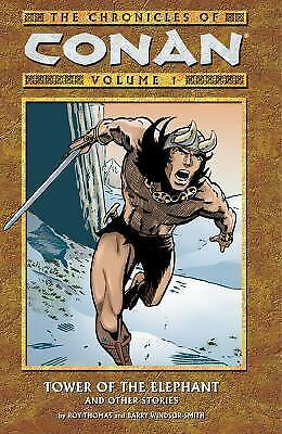 New ~ Chronicles of Conan Vol. 1 Tower of the Elephant ~ TPB ~ Dark Horse ~ OOP