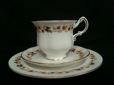 Royal Kent 'Golden Glory' Bone China Tea Trio (Cup, Saucer, Side plate) Ref.1