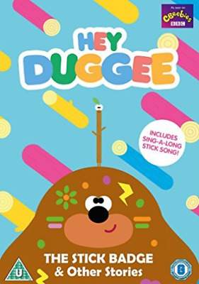 Hey Duggee Stick Badge & Other Stories DVD NEW