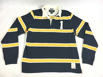 6ff63676633 Abercrombie & Fitch Striped Long Sleeve Rugby Muscle Shirt - Men's ...