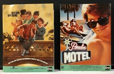 Better Off Dead - Paradise Hotel Press Info 1985 - Bios    *Hollywood Posters