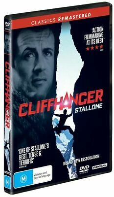 Cliffhanger (DVD, 2019) (Region 4) New Release