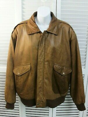 4df360037 LEATHER VINTAGE , Made In Korea, Chia Bomber Motorcycle Jacket ...
