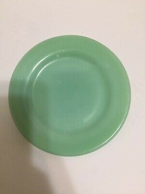 "FIRE KING ""OVEN WARE"" 1950'S Jadeite  Anchor Hocking BREAD BUTTER Plates USA"