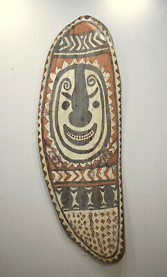 Shield Papua New Guinea Old Sepik River Shield