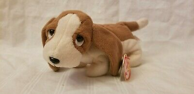 46337b05156 TY BEANIE BABY Retired 1997 Tracker Hound Dog With Tag Error-Mwmt ...