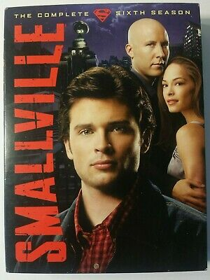 Smallville - The Complete Sixth Season (DVD, 2007, 6-Disc Set)