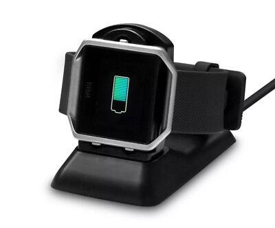 2 IN 1 Charger Charging Stand Replacement Cradle Dock Station For Fitbit Blaze