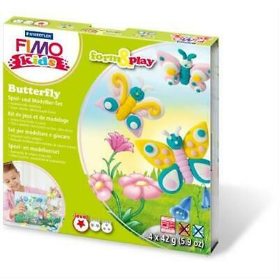 Staedtler 8034 10 LY - Fimo kids Form & Play Butterfly Kreativset Modellieren