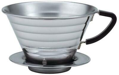 Kalita Wave Dripper 185 for 3-4 people05033 Wholesale Stainless w/Tracking