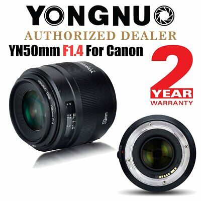 Yongnuo YN 50mm F1.4 Auto Focus Large Aperture Fixed Prime Lens for Canon UK