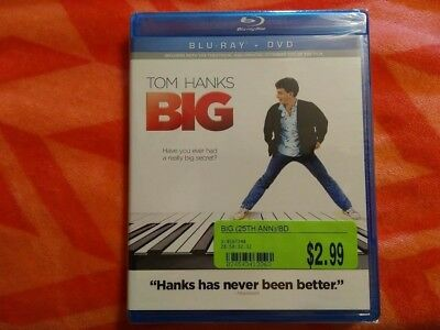 Big w/ Tom Hanks ( Blu-ray )  (NEW but ONE DISC IS LOOSE IN PACKAGE) No Returns!