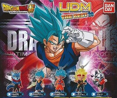 Dragon Ball SUPER Keychain - 2019 Bandai Gashapon UDM THE BEST 29 ~ Set of 5 ~