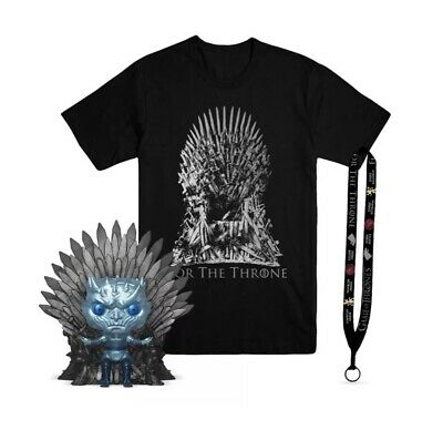 Funko Pop! Exclusive METALLIC NIGHT KING ON THRONE Game Of Thrones HBO PREORDER