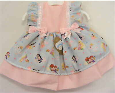 Kinder Boutique -Pink Disney Character Princess Dress (Sizes from 3mth - 4 year