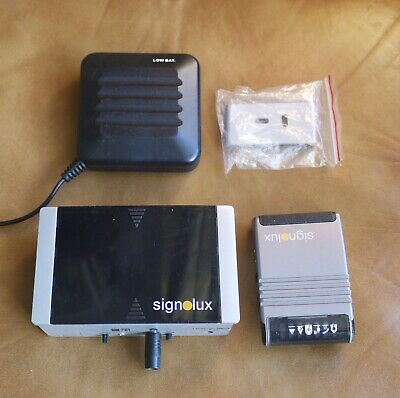 Signolux Humantechnik Home Alerting Doorbell Transmitter Receiver Pillow Pad