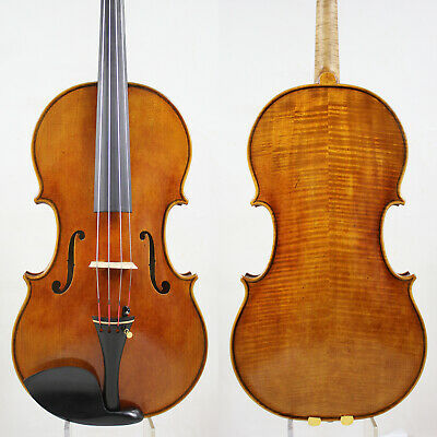 Antique Vanish! Andrea Amati  Viola 16.5 inch Copy!  #5362 Deep warm tone!