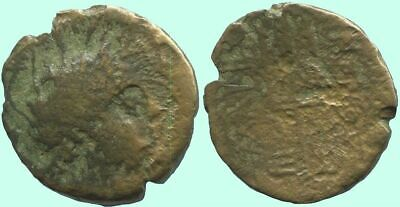 TRIDENT Ancient Authentic GREEK Coin 4 gr/19 mm @ANT1819.10US