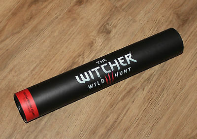The Witcher 3 : Wild Hunt Limited Edition Poster extremely rare Gamescom 2014 .