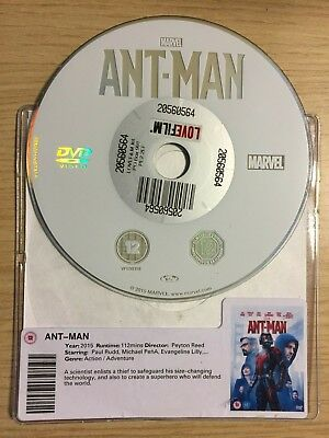 Ant-Man (Dvd, 2015) Disc Only